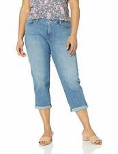 Levi's Women's Plus-Size Boyfriend Jeans BLUE STRETCH SIZE 22W
