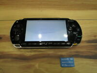 Sony PSP 1000 Console Piano Black w/1GB Memory stick Japan m51
