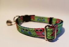 WHAT A HOOT OWL! Breakaway Safety Kitty Cat Collar with removable bell!
