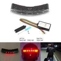 12V Inalámbrico LED Luz Lámpara de Moto  Casco Freno Giro Señal Seguridad