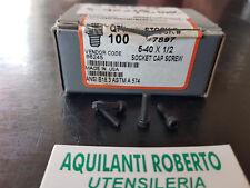 Bullone - VITE a brugola  in POLLICI da 5-40 x 1/2 UNC 5931 10 per conf