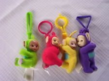 2000 TELETUBBIES MCDONALDS PLUSH CLIP ON dolls¤LAA¤DIPSY¤PO¤TINKY WINKY SET4