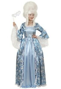 Deluxe Marquise Theatrical 18th Century English Lady Fancy Dress Costume M,L XL