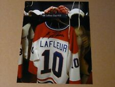 Guy Lafleur Montreal Canadians signed 8x10 Photo  - Locker/Jersey