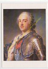 CP ART TABLEAU MAURICE QUENTIN DE LA TOUR Portrait de Louis XV