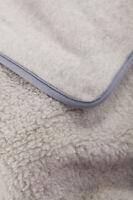 SALE! Merino Wool Blanket Grey Throw , woolmark blanket , PERFECT FOR GIFT