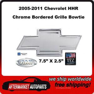 2005-2011 Chevrolet HHR Chrome Billet Aluminum Bordered Grille Bowtie 96002C