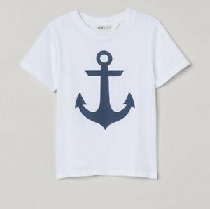 BNWOT H&M Boys T-shirt Age 8-10