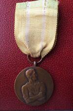 Belgique - Rare  Médaille du Réfractaire - ruban vert/blanc