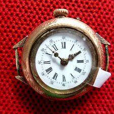 EARLY GILDED (8 K) Women´s WRISTSWATCH (Formerly Pocket Watch ) , ca. 1910