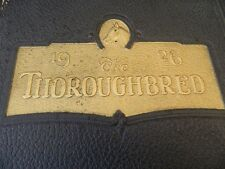 Thoroughbred 1926 University of Louisville Yearbook 20's Photos