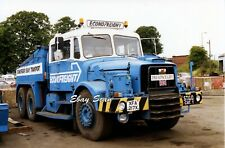 Heavy Haulage Photo Econofreight Scammell Contractor Tractor Reg № XFA217X  #1