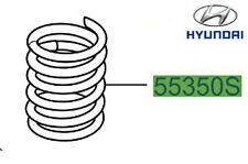 Genuine Hyundai Santa Fe Rear Coil Spring - 553302B201