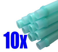 Universal Automatic Suction Pool Cleaner Replacement Hose AQUA COLOR 10PK 1.5 in