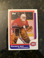 1986-87 Topps Hockey #53 PATRICK ROY ROOKIE........NM-MT+