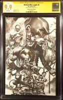 BATMAN WHO LAUGHS #6 CGC SS 9.9 MICO SUAYAN SKETCH VARIANT GRIM KNIGHT JOKER DC