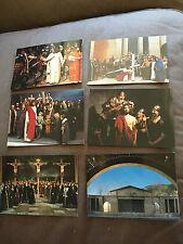 "SET OF 6 ""PASSIONSSPIELE OBERAMMERGAU 1990"" JESUS CHRIST RELIGIOUS POSTCARDS"