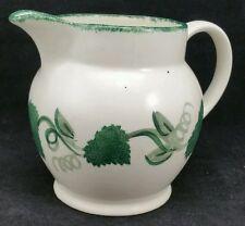 "Poole Pottery Grape vine Pattern Milk Jug, 5"" Tall"