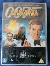 JAMES BOND(MOORE)THE MAN WITH THE GOLDEN GUN DVD 2007 RELEASE REGION 2