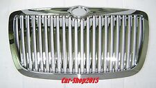2005-2010 Chrysler 300 300C Front Grill Hood Grille All Chrome Vertical Style