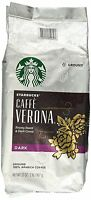 Starbucks Verona Dark Ground Coffee 12 oz. (1 Bag)