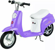 ✅ Razor Pocket Mod Miniature Electric Scooter Purple, New,