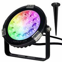 MI-LIGHT SMART FARETTO LED PICCHETTO DA GIARDINO 9W RGB+CCT WIFI FUTC02 / FUTC01