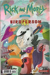 ONI Rick and Morty Presents Birdperson 1 Oni press exclusive Cvr variant New