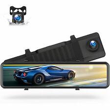 TOGUARD 12''4K Spiegel Dashcam Auto Videorecorder Camcorder Vorder Rückansicht