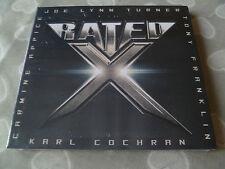 Rated X - Rated X CD JOE LYNN TURNER RAINBOW DEEP PURPLE BLUE MURDER KING KOBRA