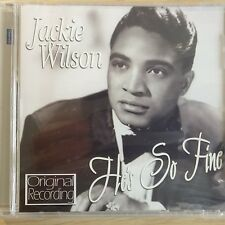NEW SEALED - JACKIE WILSON - HE'S SO FINE - R&B Soul 60's Pop Music CD Album