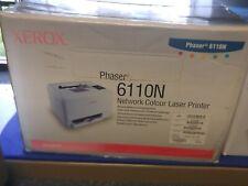 Xerox 6110N Color Laser Printer, New Sealed