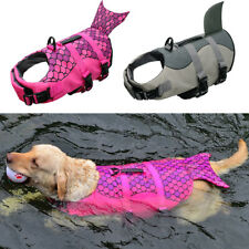 Dog Life Jacket Pet Safety Vest Swimming Saver Preserver for Medium Large Dogs