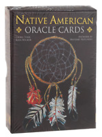 Native American Oracle Tarot CARD DECK + Booklet Lo Scarabeo
