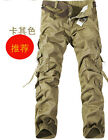 Comfort Fashion Casual Mens Military Army Cargo Camo Combat Work Trousers Pants