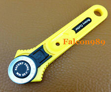 28 mm Rotary Cutter Cutting Knife For Vinyl Paper Fabric Leather Craft Tool