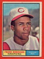 1961 Topps #360 Frank Robinson GOOD+ CREASE HOF Cincinnati Reds HOF FREE SHIP