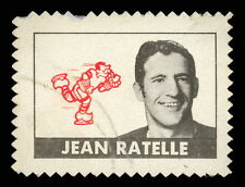 1969 70 TOPPS OPC O PEE CHEE HOCKEY STAMP JEAN RATELLE VGEX N Y NEW YORK RANGERS