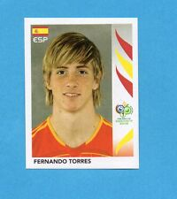 PANINI-GERMANY 2006-Figurina n.548- FERNANDO TORRES - SPAGNA -NEW BLACK