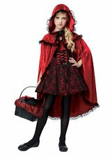 California Costumes 00491 Child Deluxe Red Riding Hood