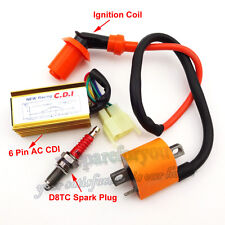 Racing Ignition Coil CDI Spark Plug Dirt Bike ATV Quad 150cc 200cc 250cc Engine