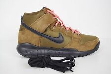 NIKE SB DUNK HIGH BOOT BROWN size UK 6 EUR 40 US 7 BNIB 536182-203