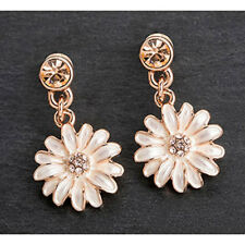 Dainty Daisy Earrings from Equilibrium