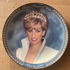 Franklin Mint Princes Diana Limited Ed Plate 1996