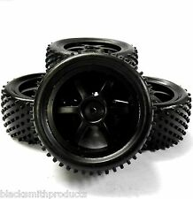 11400 / 11401 1/10 Scale Off Road Buggy Wheels and Tyres Front & Rear