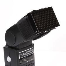 Honeycomb Hood Diffuser for Speedlite Canon Nikon YongNuo 580EX SB-910 YN-565EX