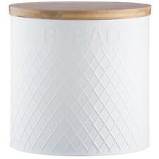 TYPHOON che vivono in rilievo tondo in acciaio inox pane cestino da cucina contenitore LOAF