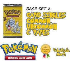 Fire Base Set 2 Pokémon Individual Cards in English