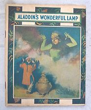 Vintage Composition Booklet --- Aladdin's Wonderful Lamp