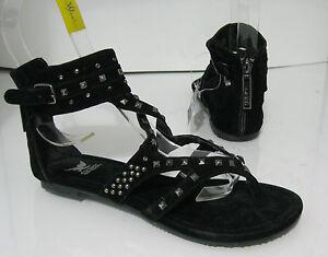 new ladies Summer Black  Shoes Roman Gladiator Sandals Women  Size 5.5